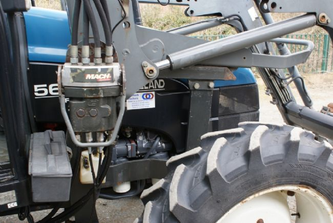 Ford Loader Arms : Tractors ford new holland tractor mx loader