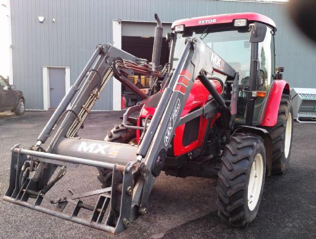 tractors zetor 7441 proxima c w mx75u loader farmline machinery rh farmlinemachinery com